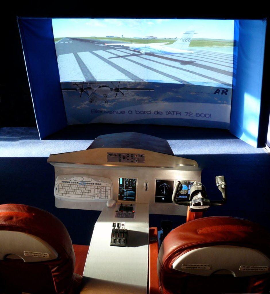 simulateur de vol ATR 72